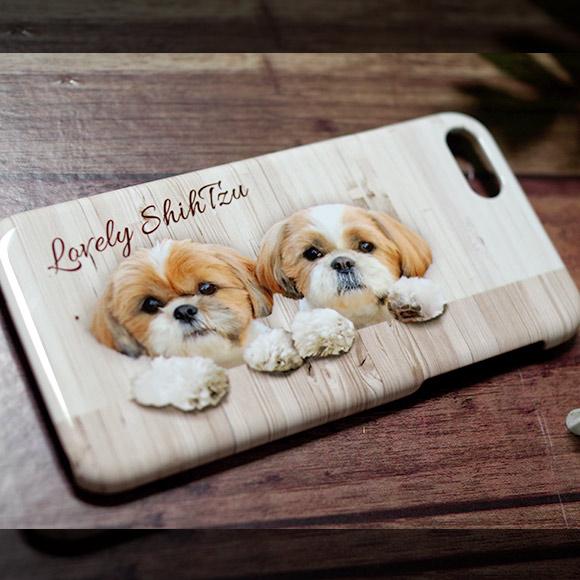 シーズー犬スマホケース