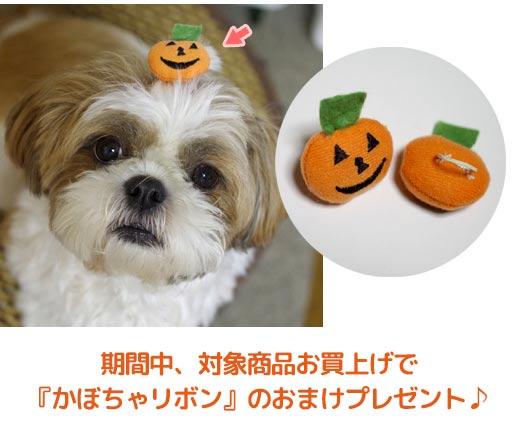 ペット用ハロウィングッズプレゼントキャンペーン説明